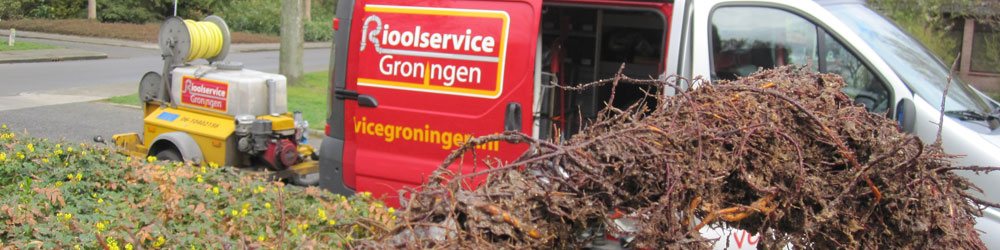 Rioolservice Groningen Boomwortels aan Rioolveer