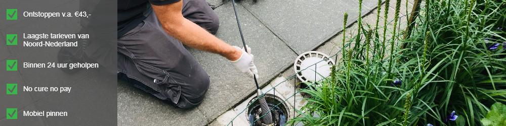 rioolservice groningen rioolinspectie camera